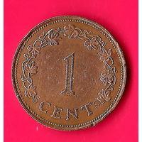 29-27 Мальта, 1 цент 1972 г