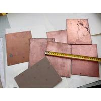Стеклотекстолит фольгированный 1,5х 120х160мм.