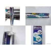 Автоматическая зубная щётка на батарейках, со сменной головкой.  распродажа