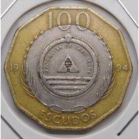 Кабо-верде 100 эскудо 1994 г.
