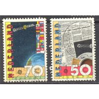 Нидерланды Европа-Септ 1991 год космос
