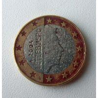 1 евро Люксенбург 2004 г.в.