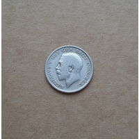 Великобритания, шиллинг 1920 г., Георг V (1910-1936), серебро