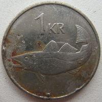 Исландия 1 крона 1989 г. (g)