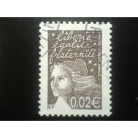 Франция 2002 стандарт 0,02