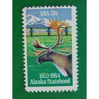 США 1984г. Фауна. Аляска.