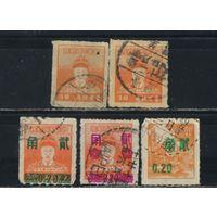 Китай Тайвань 1950-6 Чжэн Чэн-гун Надп Стандарт