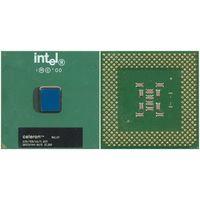 Ретро-процессор под Socket-370 Intel Celeron-633: 633/128/66/1.65V SL3W9, с кулером. = Рабочий =