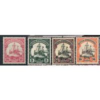 Германия Колонии Юго-Восточная Африка 1900 Яхта Гогенцоллерн Стандарт 14 15 18 20 MLH