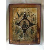 Икона Неопалимая Купина. С рубля.