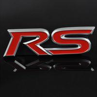 Автомобильный значок RS (цвет синий)
