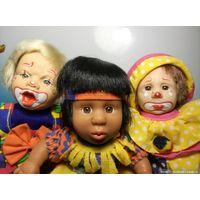 Характерная кукла. Клоуны.
