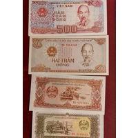 Боны - ДЕНЬГИ ++ Вьетнам ++ 5 купюр