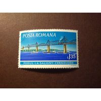 Румыния 1972 г.Мост Ангел Салиньи и мост Черна вода.