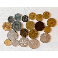 Монеты Украины с рубля.