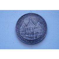 Монетка 1863,  копия, 33 мм