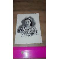 Старое фото девушка