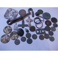 Монеты.находки и разное.Аукцион с 1.00 руб.