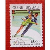 Гвинея- Бисау. Спорт. ( 1 марка ) 1983 года.