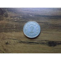 Мальта 2 цента 1972