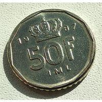 Люксембург 50 франков, 1987 4-16-5