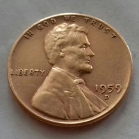 1 цент США 1959 D