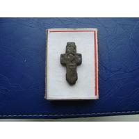 Редкий старинный нательный крестик       (3232)