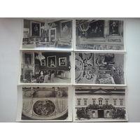 Старые открытки, замко Герренхаузен, Европа, 6 шт., цена за все