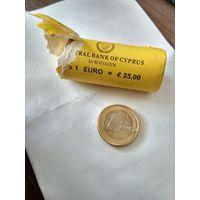 1 евро Кипр 2013 год