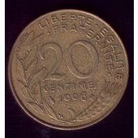 20 сантимов 1996 год Франция