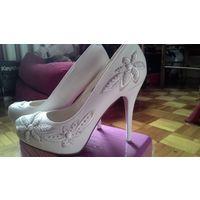 Свадебные туфли, рр 39