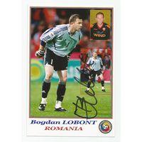 Bogdan Lobont(Румыния). Живой автограф на фотографии.