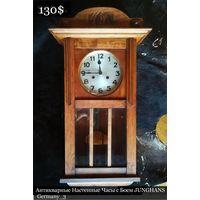 Антикварные Настенные Часы с Боем JUNGHANS Germany_3