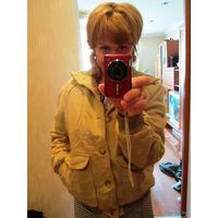 Куртка  р.46-48б. цвет красивый-БЕЖ