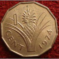 7972:  1 цент 1974 Свазиленд