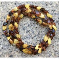 Винтажное янтарное ожерелье.