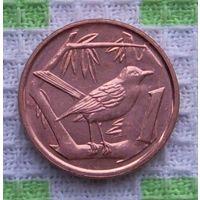 Каймановы острова 1 цент 2013 года. UNC. Гарантия низкой цены!