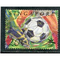 Сингапур. Олимпийские игры в Барселоне, футбол