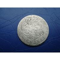 6 грошей (шостак) 1662 (3)