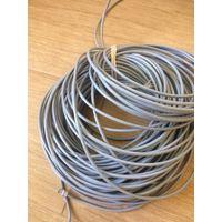 Сетевой кабель UTP5e 100 метров, обжатый с двух сторон коннекторами. Компьютерный провод для подключения интернета к телевизору ByFly SmartTV, для компьютерной сети, для ПК, Смарт ТВ, видеонаблюдения.
