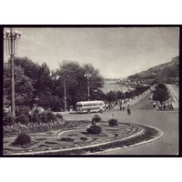 1954 год Киев Вид на набережную Днепра