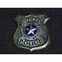 Нагрудный знак Жетон офицера полиции (сувенирный)