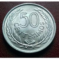 50 сентесимо, Уругвай 1965 г.