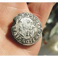 Монетка  1558  Альбрехт!! Очень редкий год!