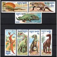 1986 Камбоджа. Доисторические животные