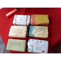 Лот 6 кусков мыла СССР 1978