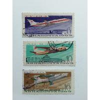 1965 СССР. Советская гражданская авиация