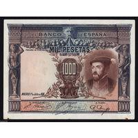 Испания 1000 песет 1925 года. Редкая!