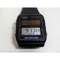 Часы CASIO FB 90 W  на солнечных элементах