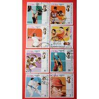 Куба 1980 Олимпиада -80 спорт